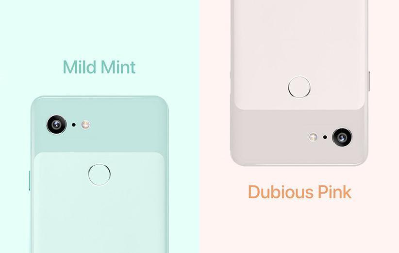 گوگل پیکسل 3 را در دو رنگ جدید ببینید
