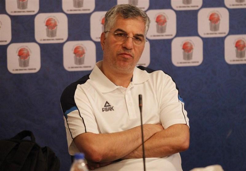 شاهین طبع: بازیکنانی که تیم ملی را قابل دانسته اند به اردو آمده اند، تصمیمات من به صلاح بسکتبال است