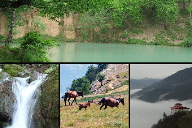 رامیان؛ بهشت کوچک گلستان، نوروزی فرح بخش در پایتخت ییلاقی اشکانیان