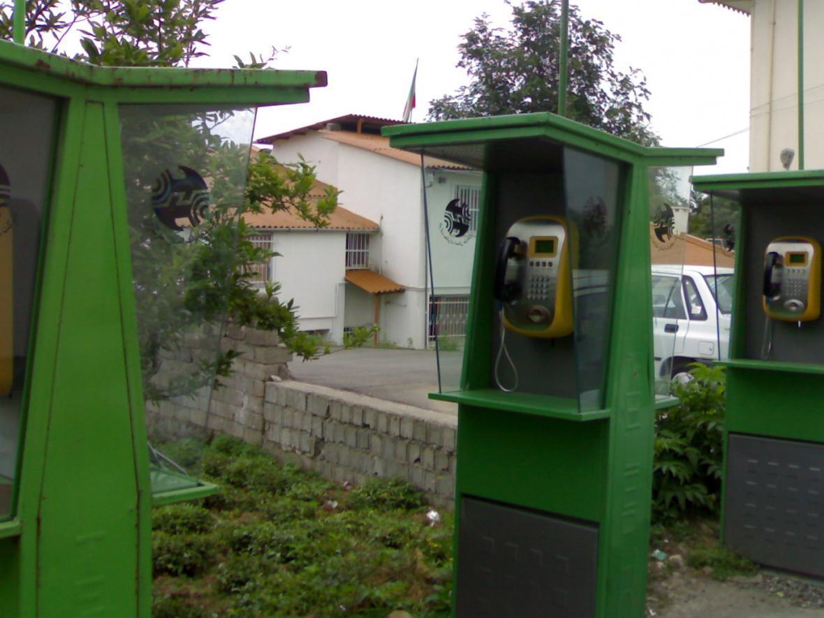 تلفن های همگانی رایگان در محل اسکان سیل زدگان خوزستان