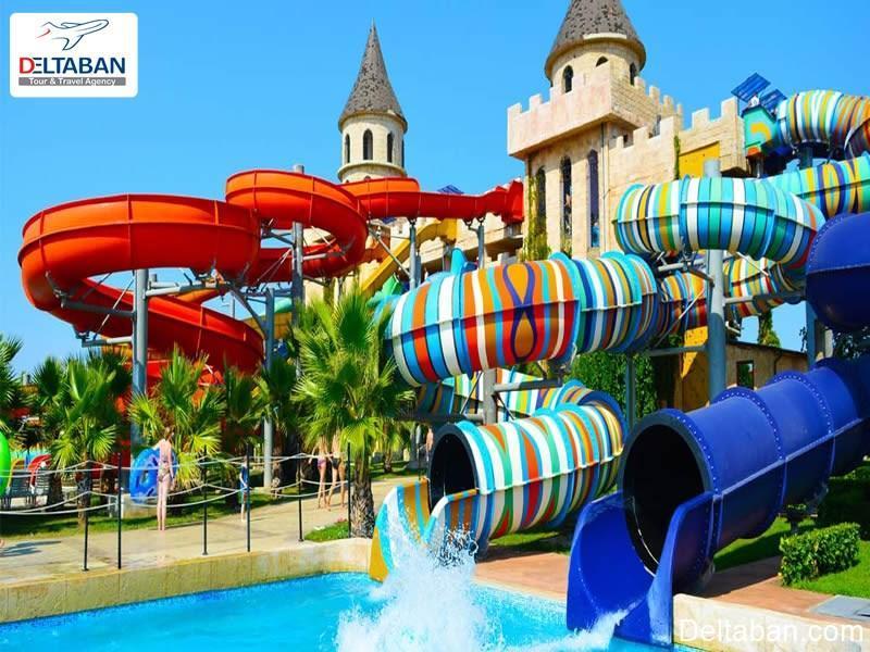 پارک آبی دریم لند دبی محلی برای تفریح خانوادگی