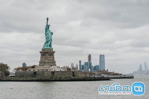 مجسمه آزادی، سومین تندیس بلند جهان