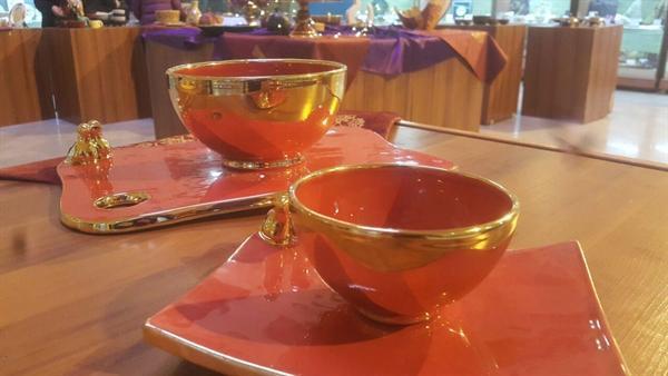 نمایشگاه ظروف کاربردی و تزیینی شب یلدا در سازمان میراث فرهنگی