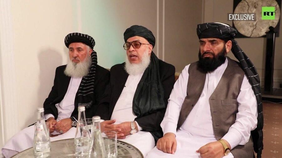 طالبان ، توقف مذاکرات با آمریکا، سفر دوباره به روسیه