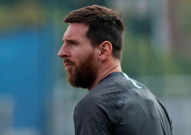 مسی در فهرست 22 نفره بارسلونا نهاده شد