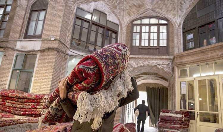 کاهش صادرات فرش دستباف آذربایجان شرقی