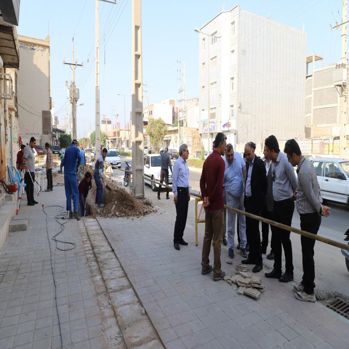 11 پیمان برای تکمیل کردن طرح جمع آوری فاضلاب در مناطق مختلف بوشهر منعقد شد