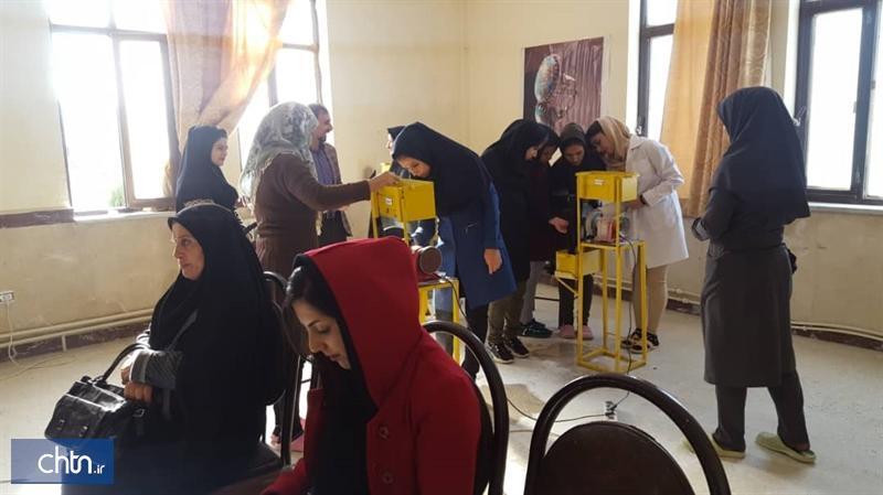 برگزاری دوره آموزشی صنایع دستی در شهرستان ایوان ایلام