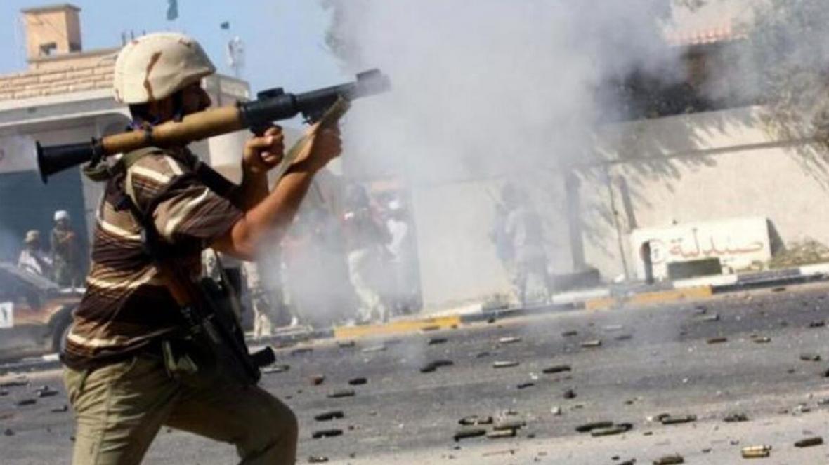 خبرنگاران درگیری میان دولت وفاق ملی لیبی و ژنرال حفتر از سر گرفته شد