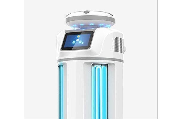 ربات ضدعفونی کننده که از شیوع ویروس کرونا جلوگیری می نماید