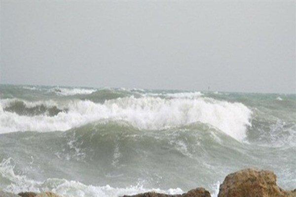 هشدار سازمان هواشناسی نسبت متلاطم شدن دریا ، افزایش ارتفاع موج