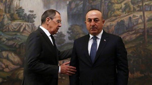 توافق نظر چاووش اوغلو و لاوروف درباره سوریه و تقویت همکاری نظامی