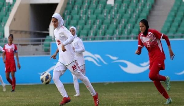 صعود تیم ملی فوتبال زنان ایران، به جام ملت های آسیا
